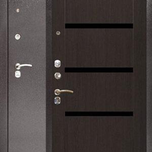 Дверь входная Аргус Модерн венге