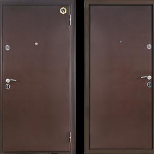 Двери входные Бульдорс STEEL 12 металл металл