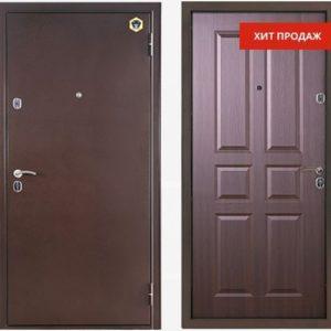 Двери входные Бульдорс 12 С Венге