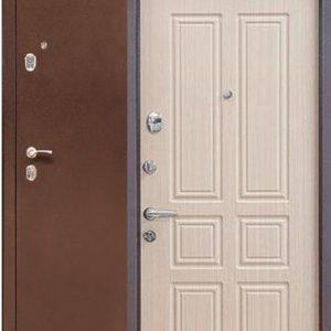 Двери входные Бульдорс 24 Беленый дуб