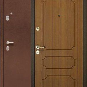 Двери входные Бульдорс 24 Лесной орех