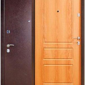 Двери входные Бульдорс 24 Орех миланский