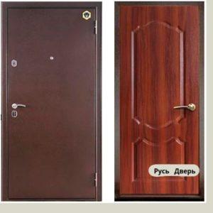 Двери входные Бульдорс 33 С Темный орех
