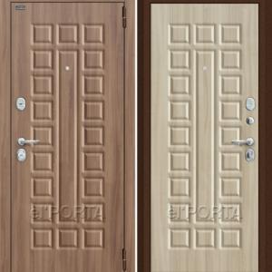 Дверь входная Оптим декор твин