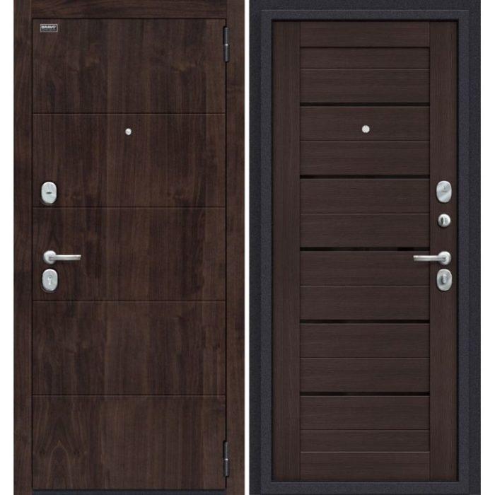 Входная дверь оптим Прайм РР Венге