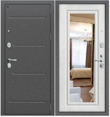 Входная дверь GROFF Р 2-206 с зеркалом
