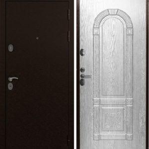 Двери Страж 3К 3D повышенной шумоизоляции (беленый дуб)