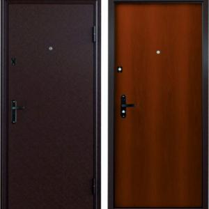 Входная дверь ДПН-50-05 орех
