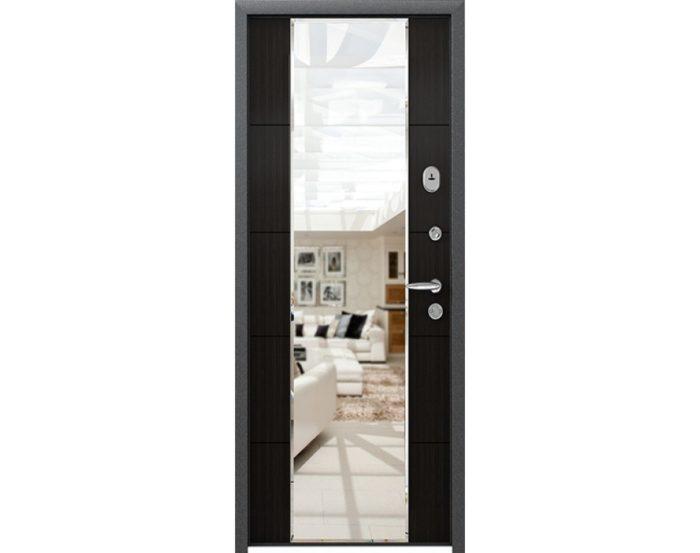 Дверь входная Страж 3 К Mirror с зеркалом