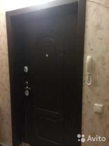 Дверь Входная Страж 3К арка венге