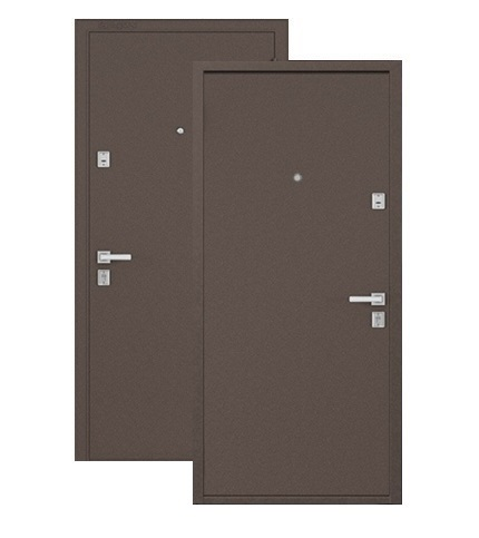 Двери входные Бульдорс ST Steel металл металл