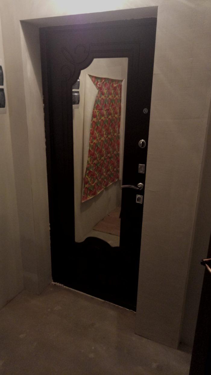 Дверь входная страж 2 к Ольга с зеркалом