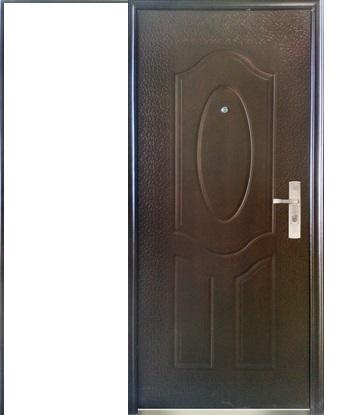 Дверь входная металлическая строительная ЭКОНОМ Е 40