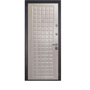Входная дверь Страж 3К Galaxy повышенная шумоизоляция (белёный дуб)