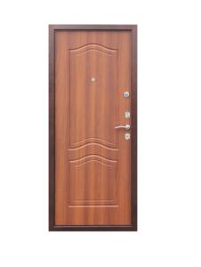 """Входная дверь стальная """"Страж"""" 2-К GD 1512 (лесной орех)"""