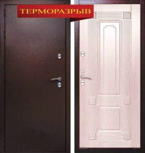Входная дверь СТРАЖ 3К Тепло для загородных домов и коттеджей с Терморазрывом