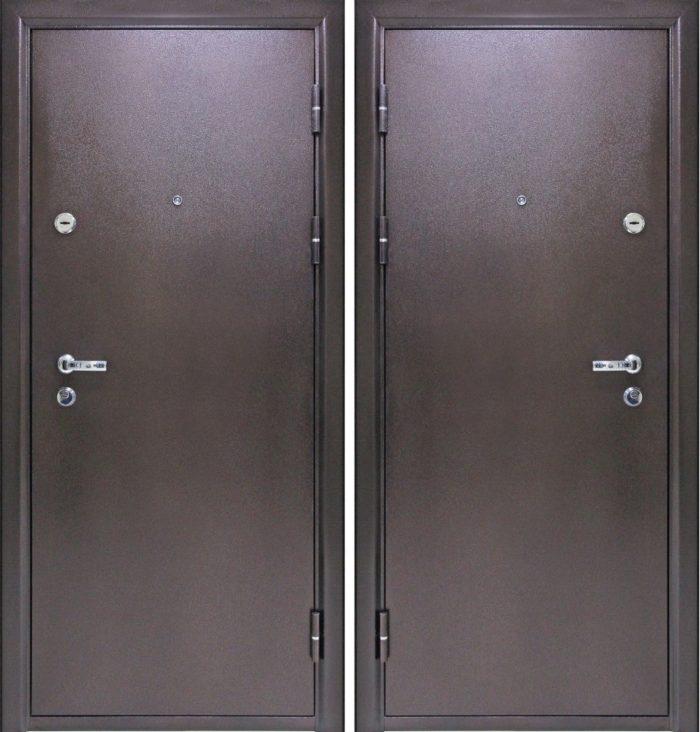 Двери входные Йошкар металл металл 7 см 3 петли