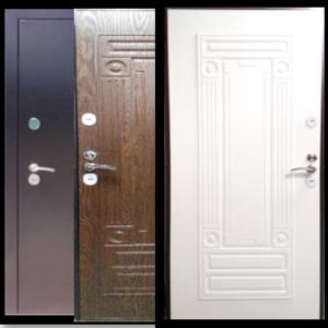 Двери входные ДС Термо для коттеджей и загородных домов с терморазрывом