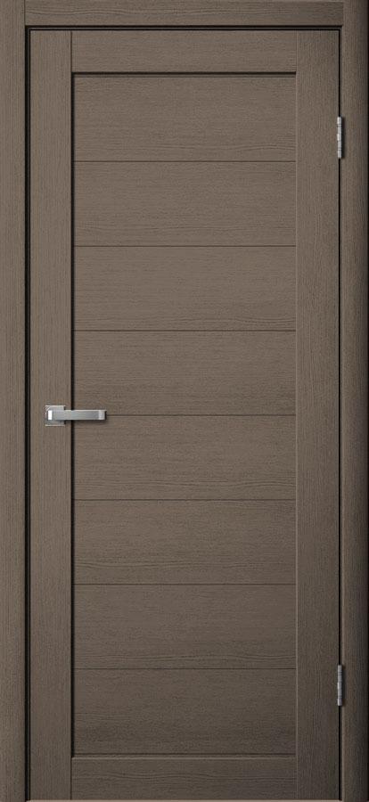 Модель S 1 межкомнатная дверь дуб неаполь серый