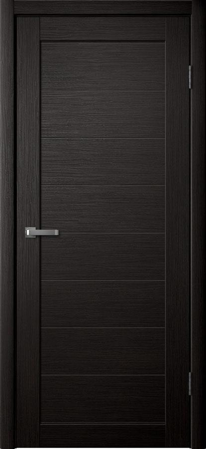Модель S 1 межкомнатная дверь орех тёмный