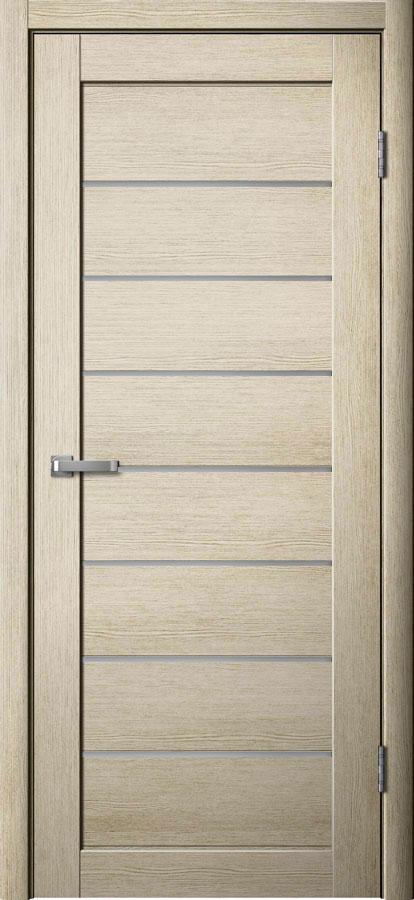 Модель S 18 межкомнатная дверь лиственница кремовая