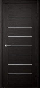 Модель S 18 межкомнатная дверь орех тёмный