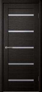Модель S 2 межкомнатная дверь орех тёмный