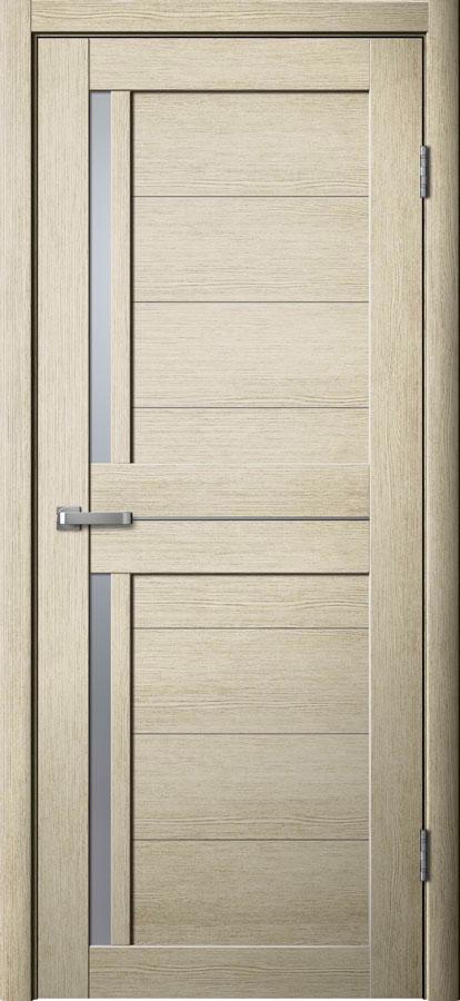 Модель S 6 межкомнатная дверь лиственница кремовая