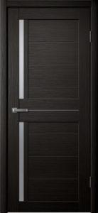 Модель S 6 межкомнатная дверь орех тёмный