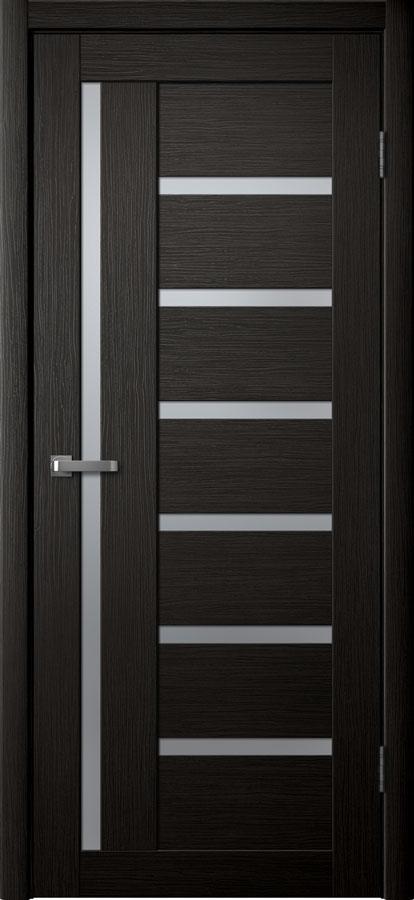 Модель S 8 межкомнатная дверь орех тёмный