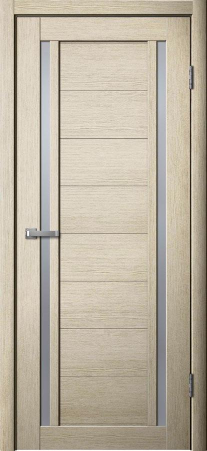 Модель S12 межкомнатная дверь лиственница кремовая