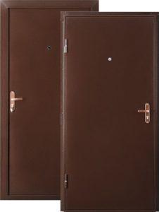 Двери Страж ГОСТ метал/метал