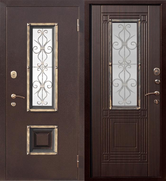 Двери входные Венеция венге