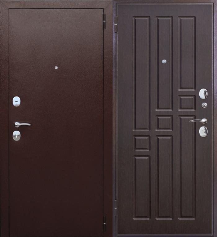 Двери входные Гарда 8 мм венге