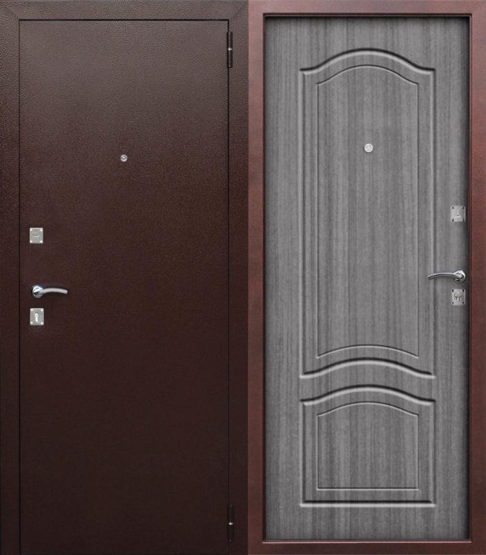 Двери входные Доминанта венге тобакко