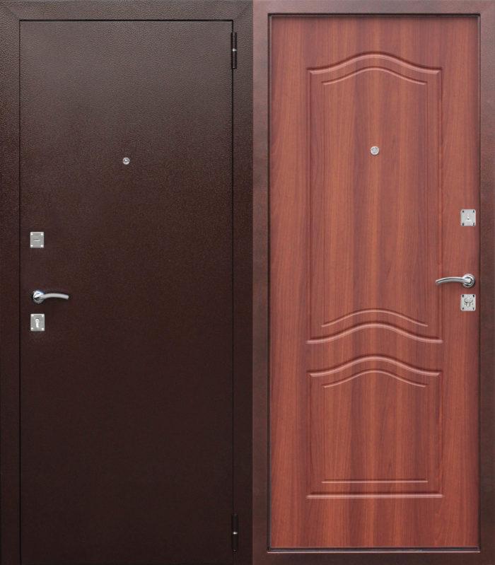 Двери входные Доминанта дуб рустикальный