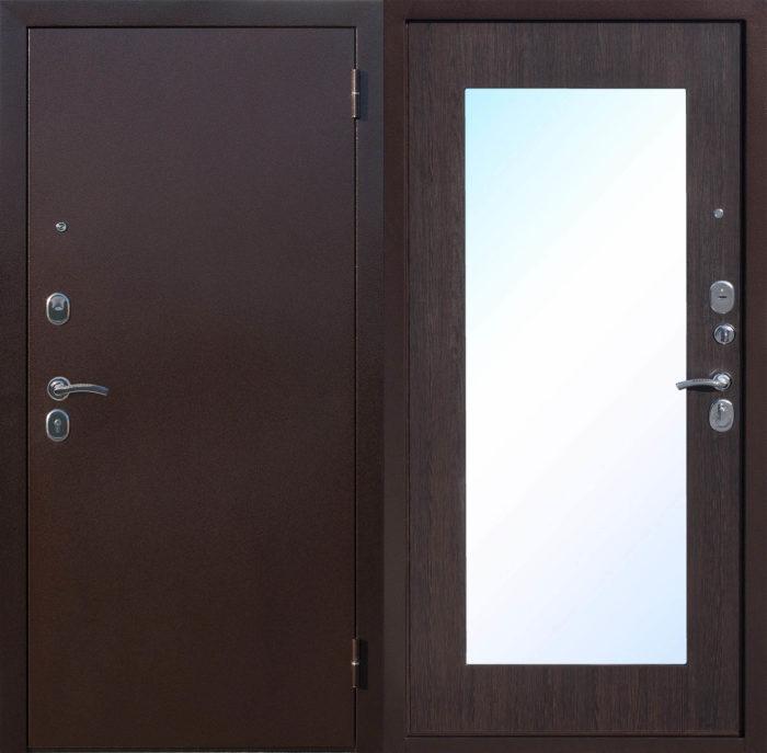 Двери входные Царское зеркало MAXI венге