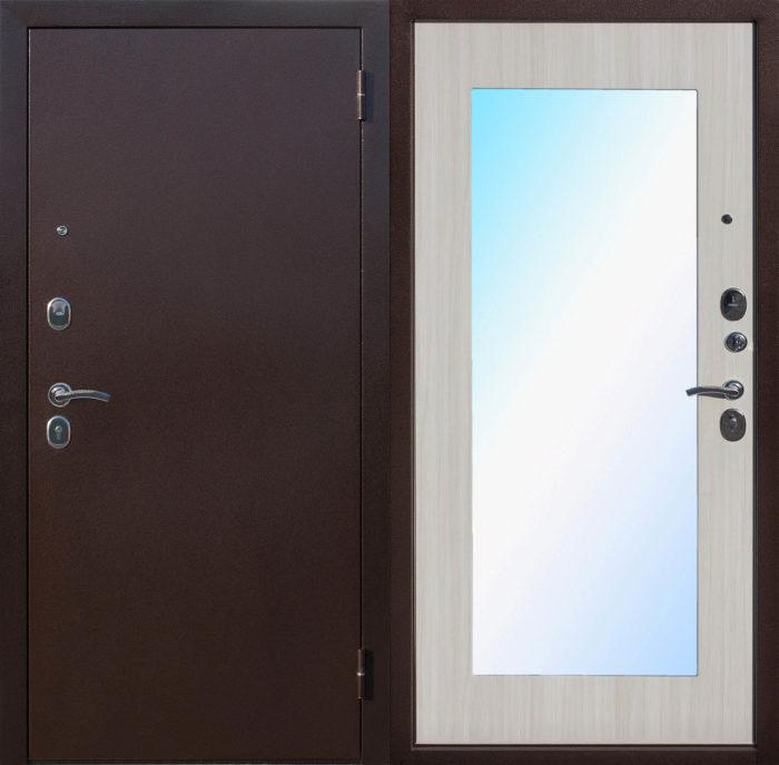 Двери входные Царское зеркало MAXI дуб сонома