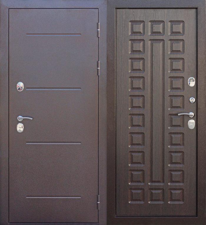 Двери ISOTERMA 11 см венге терморазрыв