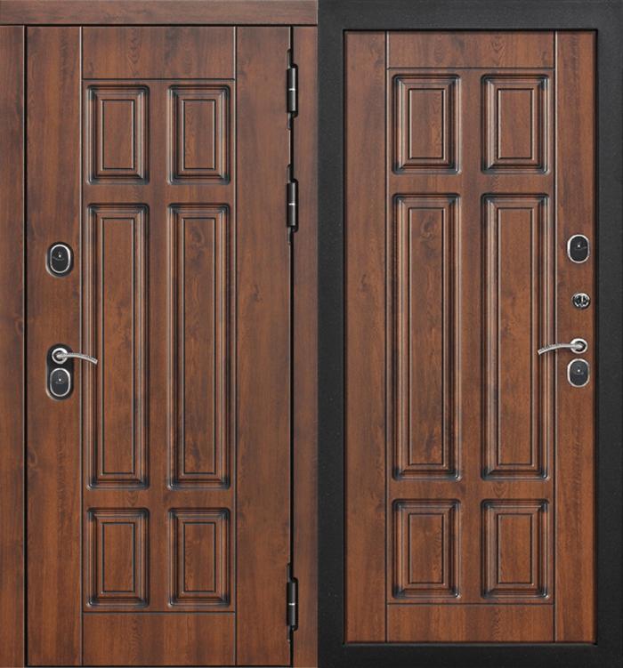 Двери ISOTERMA 13 см орех с терморазрывом