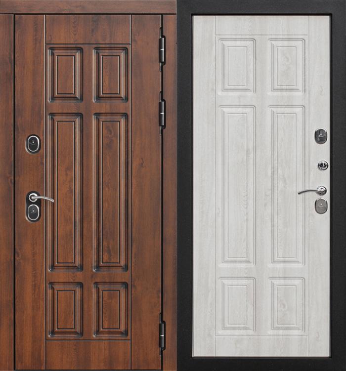 Двери ISOTERMA 13 см дуб молочный с терморазрывом