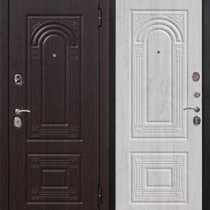 Дверь входная Флоренция винорит дуб беленый